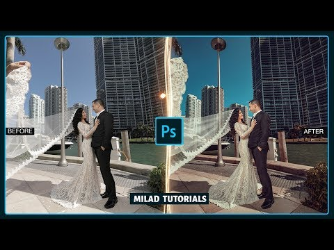 How To Edit Wedding Pictures In Photoshop - Photoshop Filter