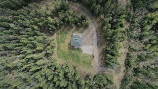 Aerial Views of Real Estate Property in Calgary - 4 Pine Ridge Dr, Rural Foothills