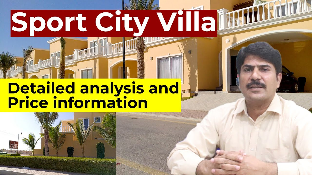 Sport City Villa Price  and latest update  Best Villa in Bahria Town | Salaam Estate & Builders