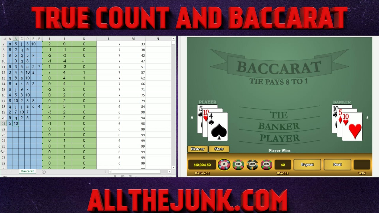 Baccarat Counting