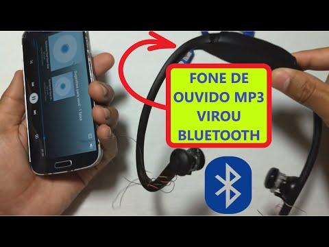 Como transformar fone mp3/Cartão SD em Bluetooth, utilizando fone jbl-60 e sport mp3