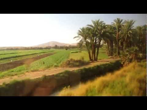 [Egypt Adventures:] Riding The Train From Cairo - Aswan