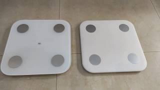 Mi Body Composition Scale v1 and v2 Comparison Video