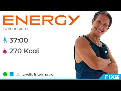 Energy! Esercizi Per Dimagrire A Tempo di Musica Senza Salti - V2