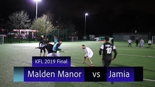 KFL 2019 Final - Jamia vs Malden Manor (Highlights)
