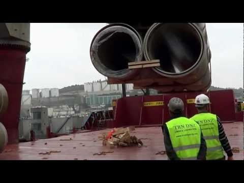 Armada Logistics Pipe loading and shipping (Project Cargo)