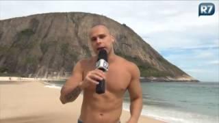 Lucas Barreto revela que está quase tudo certo para posar pelado de novo
