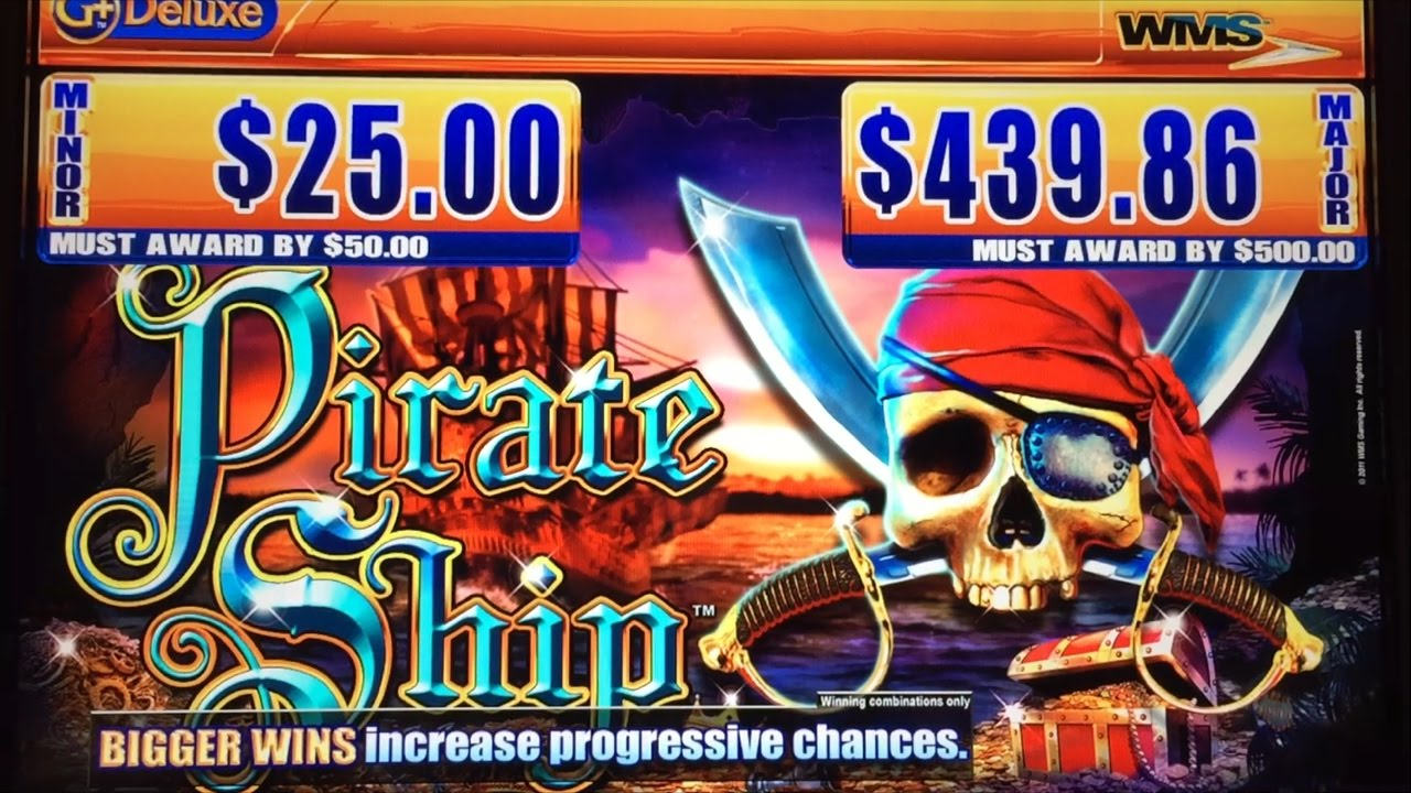Pirate Ship Slot Machine