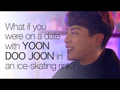 What if you were on a date with Yoon Doo Joon in an ice-skating rink?