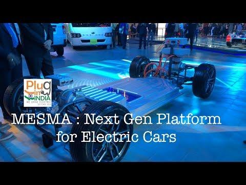 MESMA : Next Gen Platform for Electric Cars - Liquid Cooling, High Voltage, Modular