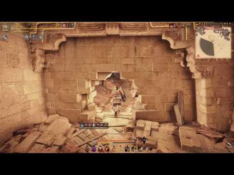Black Desert, Золотой Сундук с Сокровищами (Храм Анакреона) (Golden Treasure Chest Locations)