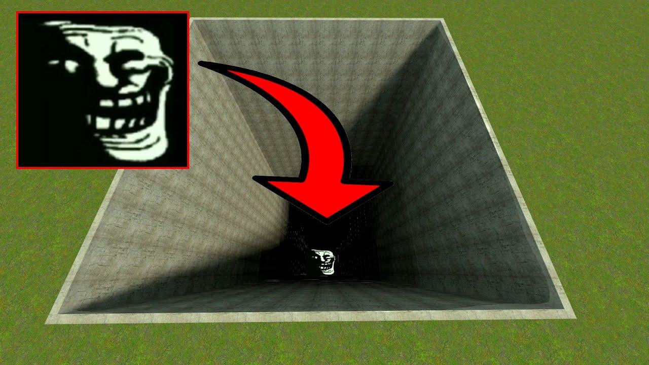 TROLLGE PIT OF DEATH! (999,999 Feet DEEP) - Garry's mod Sandbox