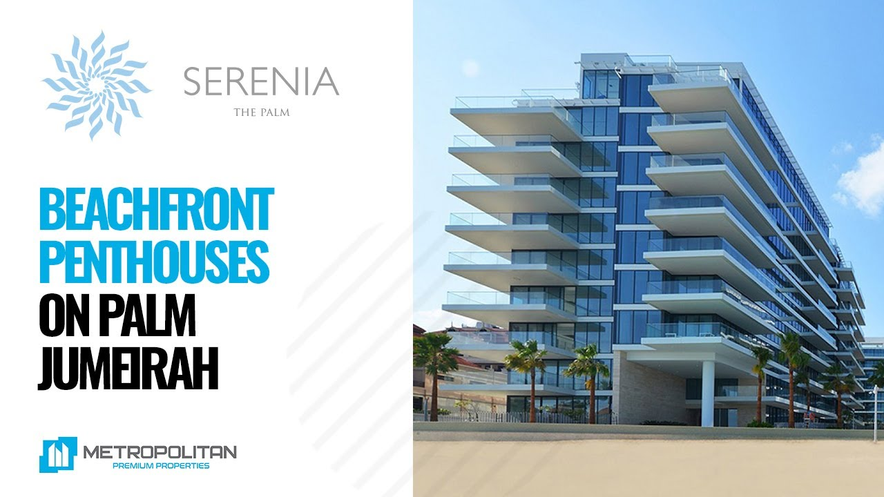 Apartments & Penthouses for Sale on Serenia Residences, Palm Jumeirah