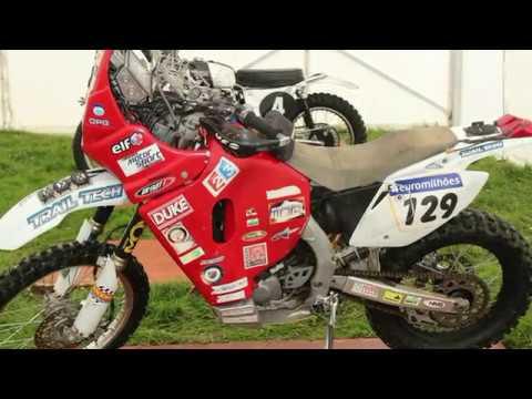 """Paris/Dakar Motorcycles"" Robbie Allan&#;s CRF  Honda"