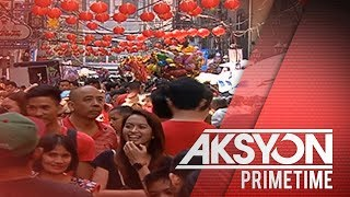 Chinese New Year celebration sa Binondo, naging maingay at makulay