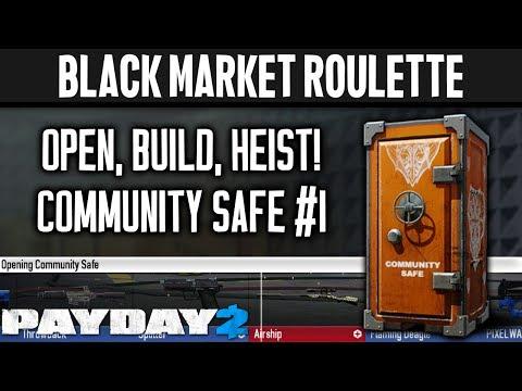 BLACK MARKET ROULETTE: Community Safe 1 [PAYDAY 2]