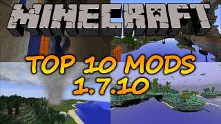 Top 10 Minecraft mods (1.7.10) - July 2016