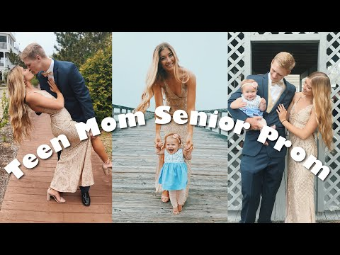High School Prom GRWM And My Baby!! // TEEN MOM PROM VLOG 2019