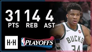 Giannis Antetokounmpo Full Game 6 Highlights Celtics vs Bucks 2018 Playoffs - 31 Pts, 14 Reb, 4 Ast!