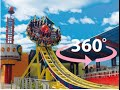 360° Degree Disco Roller Ride | Worlds of Wonder Amusement Park | Virtual Reality