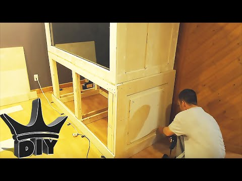 HOW TO: Build a plywood aquarium | Part 4 | Building the stand TUTORIAL
