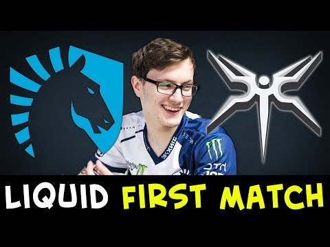Miracle LOL fountain diving — Liquid first match after TI7 vs Mineski