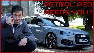 Audi gave me the new RS4...but I Need Your Help !