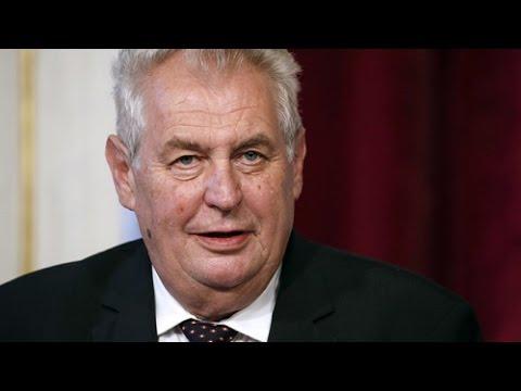 Czech President Milos Zeman on ties