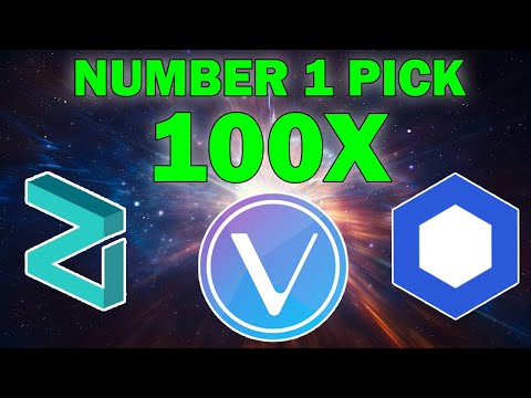 number-1-pick-for-100x,-how-to-make-money-in-crypto-more!-vet,-link,-zil,-ada