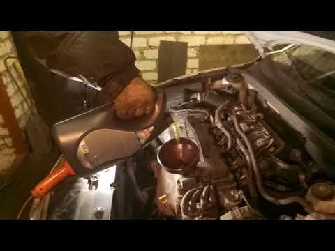 Замена масла в Chevrolet Cruze. GM Мотор 1.6 109 лс.