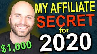 Affiliate Marketing In 2020: How I Earn $1,000 PER DAY