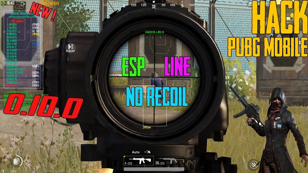 PUBG MOBILE NEW HACK 0.10.0 | NO RECOIL | ESP| NO RECOIL | HACK TENCENT BUDDY GAMING 2019