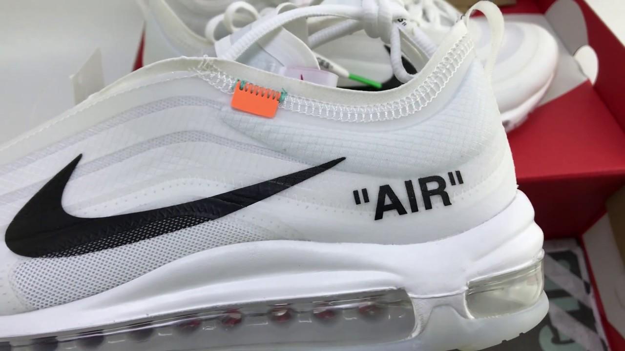 OFF-WHITE x Nike Air Max 97 AJ4585-100