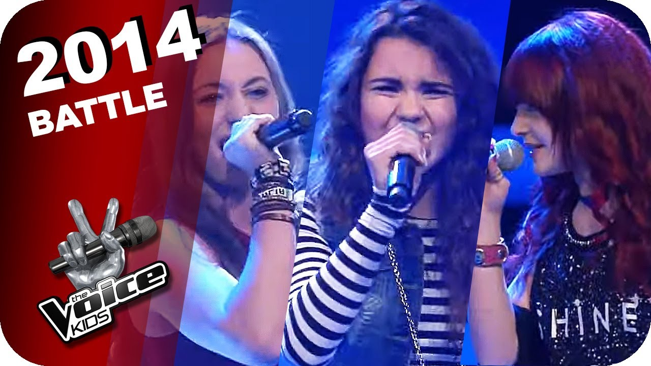 Pink - Are We All We Are (Vanessa/Tamara/Carlotta)   The Voice Kids 2014   Battles   SAT.1