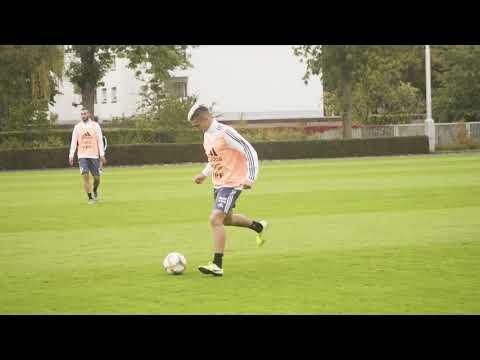 #SelecciónMayor El equipo de Scaloni volvió a entrenarse antes de enfrentar a Alemania