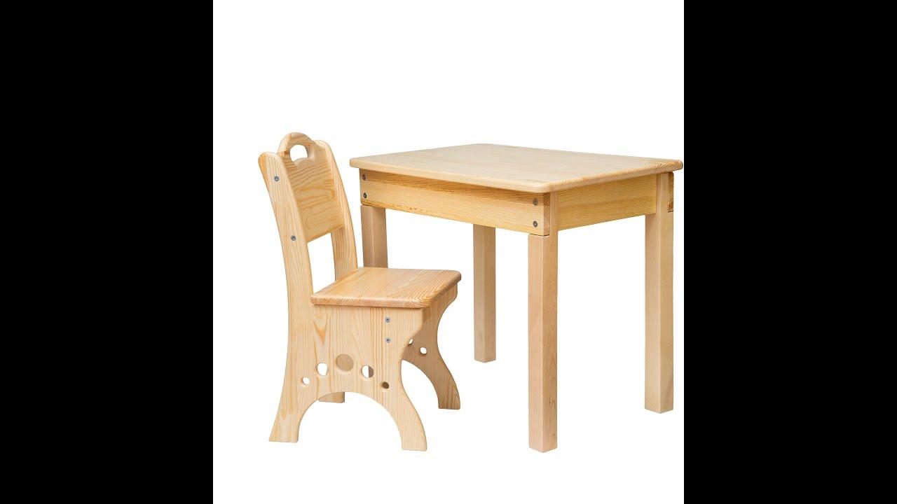как собрать детский столик для кормления деревянный инструкция