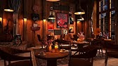 Cozy Coffee Shop Ambience with Relaxing Jazz Music and Rain Sounds, Rainy Night & Smooth Jazz Music
