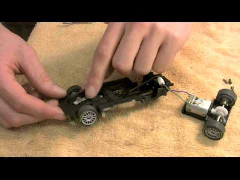 CARRERA DIGITAL / ANALOG SLOT CAR MAINTENANCE