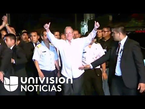 Así bailó el presidente peruano Pedro Pablo Kuczynski para celebrar que no fue destituido