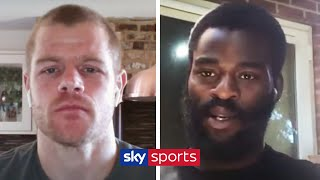 Joshua Buatsi & Callum Johnson discuss a potential fight against each other