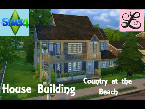 The Sims 4: House Building - Country at the Beach