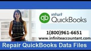 How to Repair QuickBooks Data Files?
