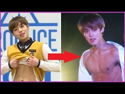Wanna One's Park Jihoon Shocks Everyone With His Sexy Abs