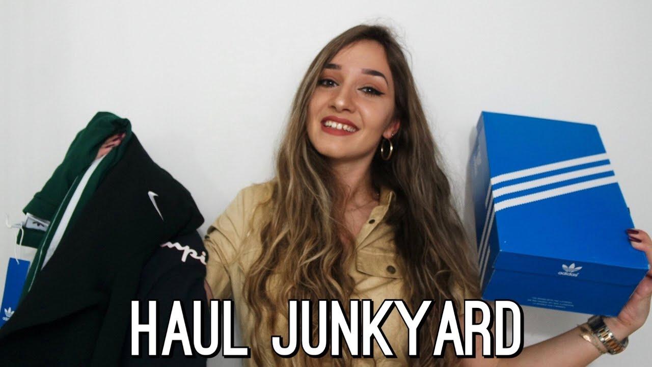 416ccbfe TRY-ON HAUL JUNKYARD | Nike,Adidas,Fila.. - YouTube