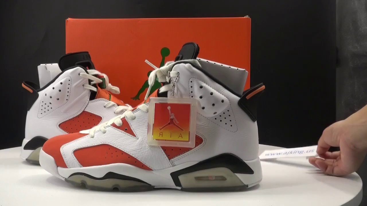 Air Jordan 6 Gatorade Vídeos Unboxing