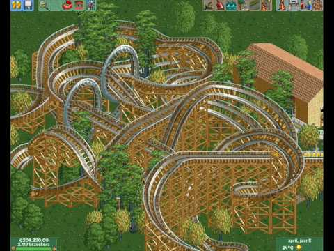 Rollercoaster Tycoon 2 Building A Big Coaster Youtube