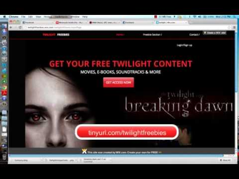 Twilight: Download All Movies, Books, and Soundtracks for Free!