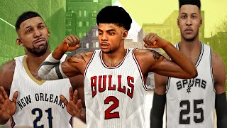 NBA 2K15 My Park | Rival Day Night Vs Old Town Flyers