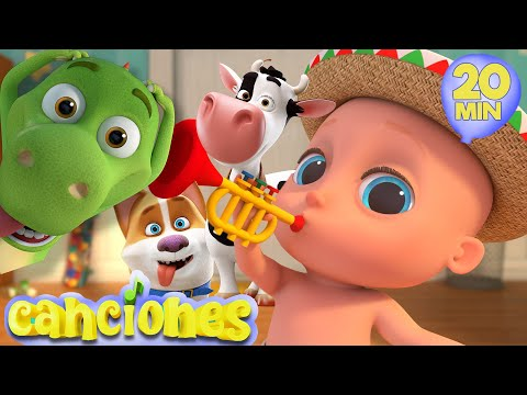 Las 10 mejores canciones infantiles | Pin Pon | Zigalu | Cucu | LooLoo KIDS espaol