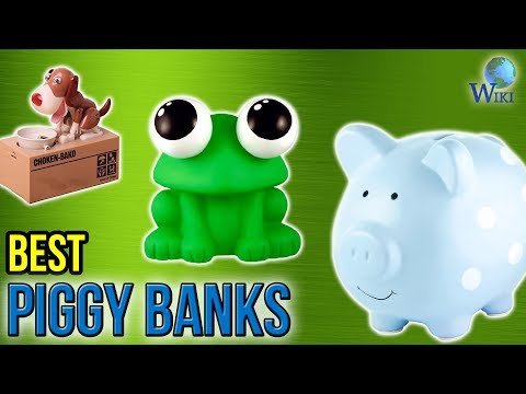 10 Best Piggy Banks 2017